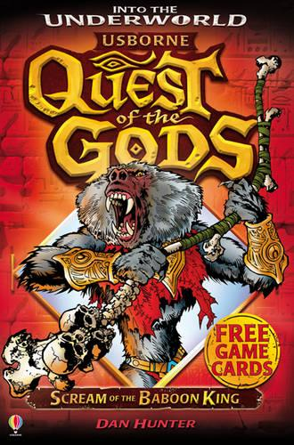 Scream of the Baboon King - Quest of the Gods 08 (Paperback)