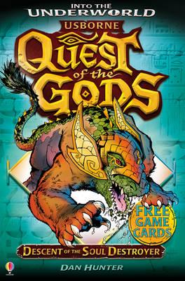 Descent of the Soul Destroyer - Quest of the Gods (Paperback)