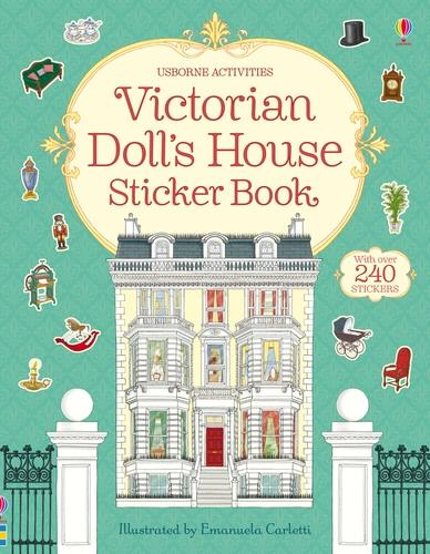 Victorian Doll's House Sticker Book - Doll's House Sticker Book (Paperback)