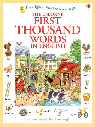 First Thousand Words In English - First Thousand Words (Paperback)