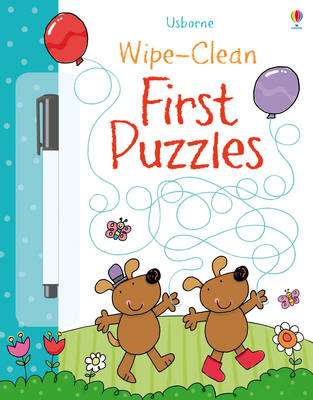 Wipe-clean First Puzzles - Wipe-Clean (Paperback)