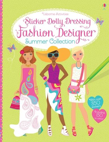 Sticker Dolly Dressing Fashion Designer Summer Collection - Sticker Dolly Dressing (Paperback)