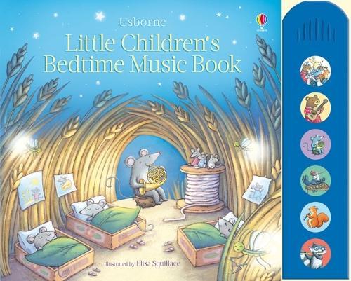 Little Children's Bedtime Music Book - Musical Books (Hardback)