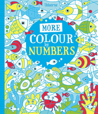 More Colour By Numbers - Colour By Number (Paperback)