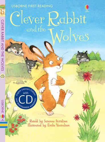 Clever Rabbit and the Wolves - English Learners (CD-Audio)