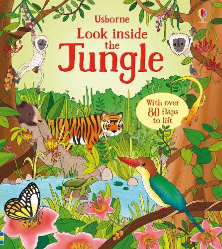 Look Inside the Jungle - Look Inside Board Books (Board book)