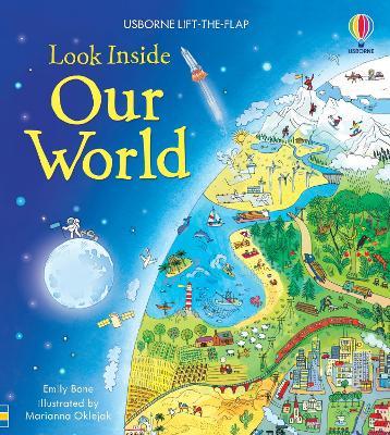 Look Inside Our World - Look Inside Board Books (Hardback)