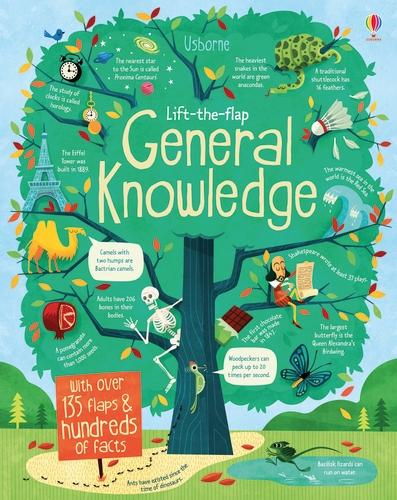 Lift-the-Flap General Knowledge - See Inside (Board book)