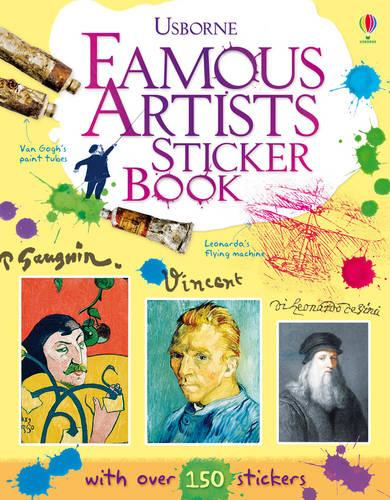 Famous Artists Sticker Book (Paperback)