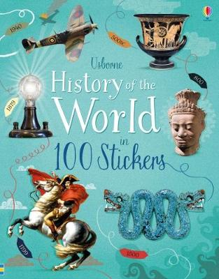 History of the World in 100 Stickers (Paperback)