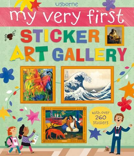My Very First Sticker Art Gallery (Paperback)