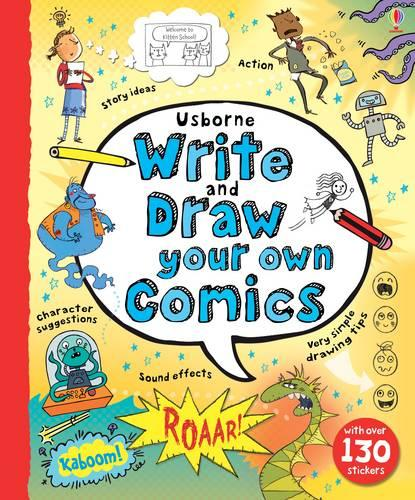 Write and Draw Your Own Comics - Write Your Own (Spiral bound)
