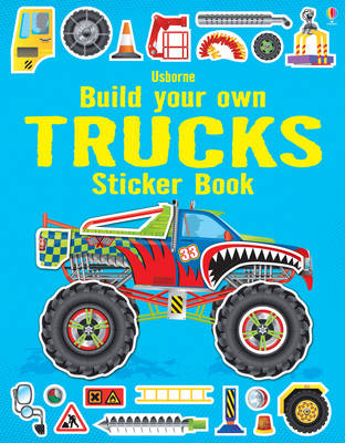Build Your Own Trucks Sticker Book - Build Your Own Sticker Book (Paperback)