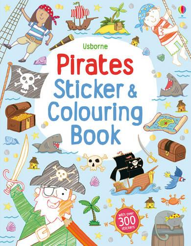 Pirates Sticker and Colouring Book - Sticker and Colouring Books (Paperback)