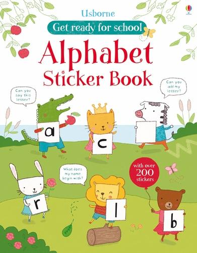 First Letters Sticker Book - Get Ready for School Sticker Books (Paperback)