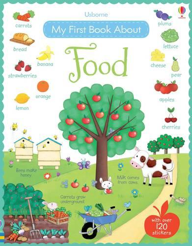 My First Book About Food (Paperback)