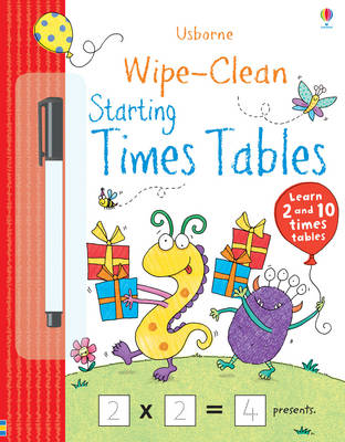 Wipe-clean Starting Times Tables - Wipe-clean Books (Paperback)