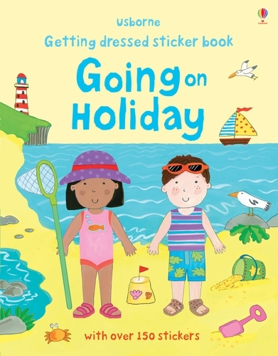 Getting Dressed Going on Holiday - Getting Dressed Sticker Books (Paperback)