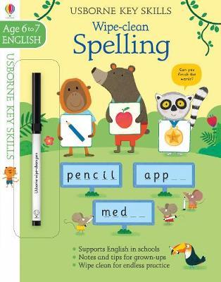 Wipe-clean Spelling 6-7 - Key Skills (Paperback)