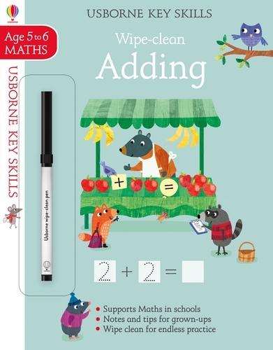 Wipe-Clean Adding 5-6 - Key Skills (Paperback)