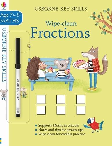 Wipe-Clean Fractions 7-8 - Key Skills (Paperback)