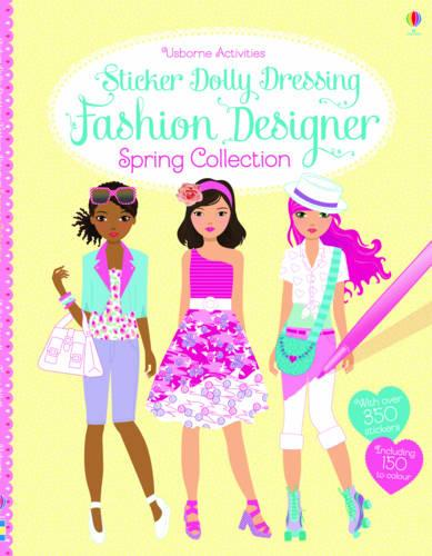 Sticker Dolly Dressing Fashion Designer Spring Collection