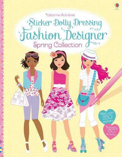 Sticker Dolly Dressing Fashion Designer Spring Collection - Sticker Dolly Dressing Fashion Designer (Paperback)
