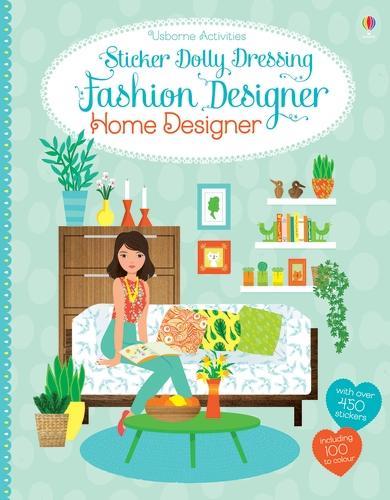 Sticker Dolly Dressing Fashion Designer Home Designer - Sticker Dolly Dressing Fashion Designer (Paperback)