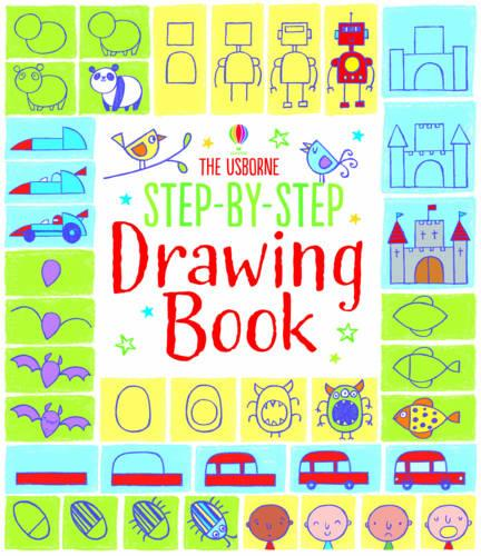 Step-by-Step Drawing Book - Step-by-Step Drawing Book (Paperback)