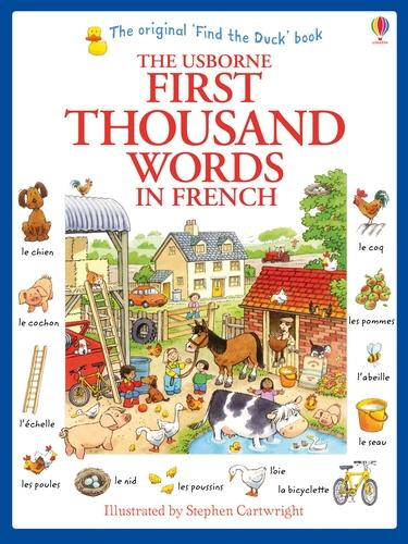 First Thousand Words in French (Paperback)