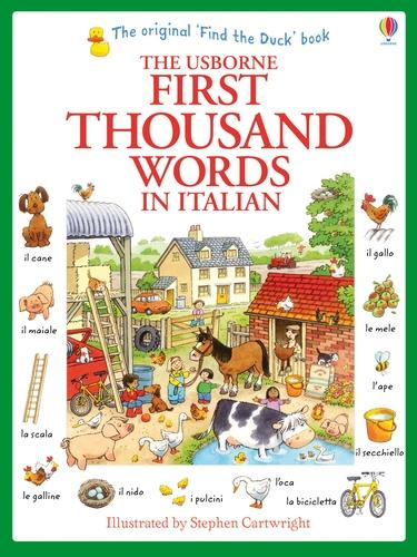 First Thousand Words in Italian (Paperback)