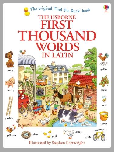 First Thousand Words in Latin - First Thousand Words (Paperback)