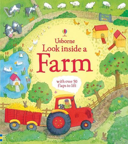 Look Inside a Farm - Look Inside Board Books (Hardback)