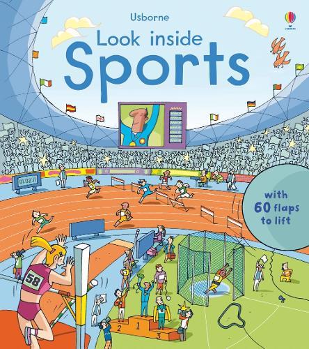 Look Inside Sports - Look Inside (Board book)