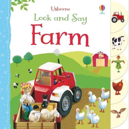 Look and Say Farm - Look & Say (Board book)