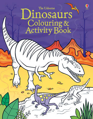 Dinosaurs Colouring and Activity Book - Colouring & Activity Books (Paperback)