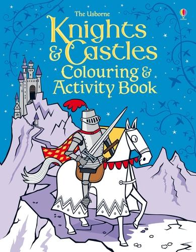 Knights and Castles Colouring and Activity book - Colouring Books (Paperback)
