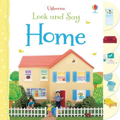 Look and Say Home - Look & Say (Board book)