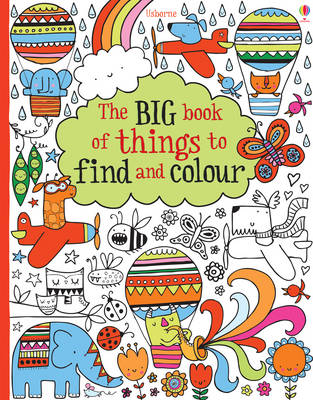 Big Book of Lots of Things to Find and Colour - Colouring Books (Paperback)