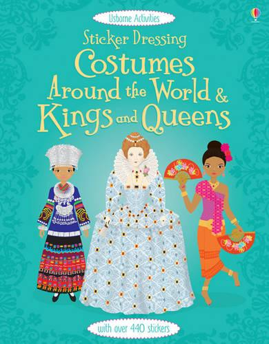 Sticker Dolly Dressing Costumes around the World & Kings and Queens