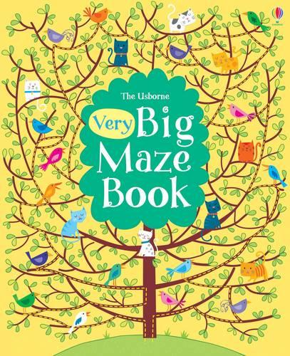 Big Book of Big Mazes - Mazes (Paperback)