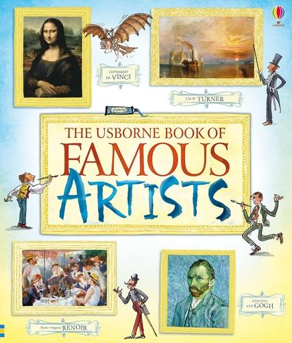 Book of Famous Artists (Paperback)