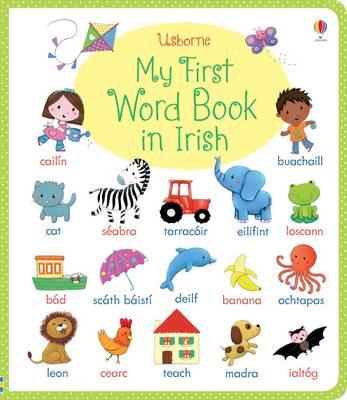 My First Word Book in Irish (Board book)