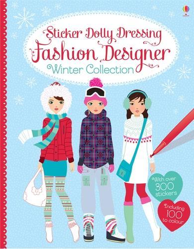 Fashion Designer Winter Collection - Sticker Dolly Dressing Fashion Designer (Paperback)
