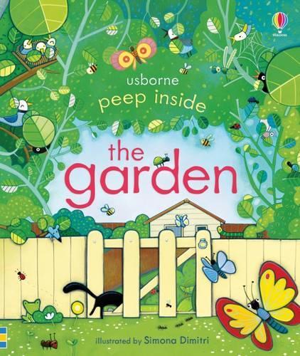 Peep Inside The Garden - Peep Inside (Board book)