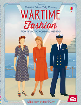 Historical Sticker Dolly Dressing Wartime Fashion - Historical Sticker Dolly Dressing (Paperback)