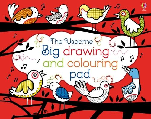 Big Drawing, Dooling and Colouring tear-off Pad - Tear-off Pads (Paperback)