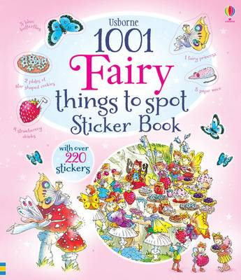 1001 Fairy Things to Spot Sticker Book - 1001 Things (Paperback)