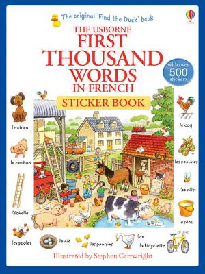 First Thousand Words in French Sticker Book - First Thousand Words (Paperback)