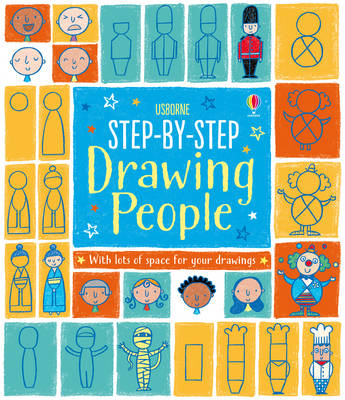 Step-by-Step Drawing Book: People - Step-by-Step Drawing Book (Paperback)
